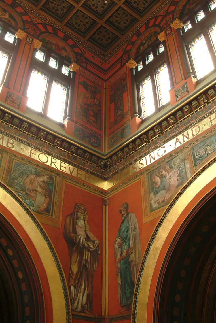 Trinity Church Interior Decorative Painting