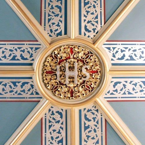 Basilica of Saint John the Evangelist Ceiling