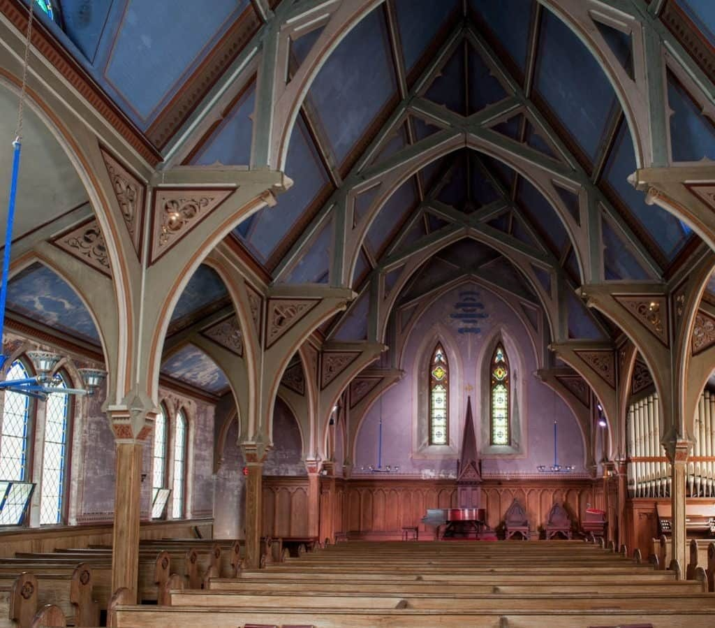 Distemper Paint / Yarmouth New Church
