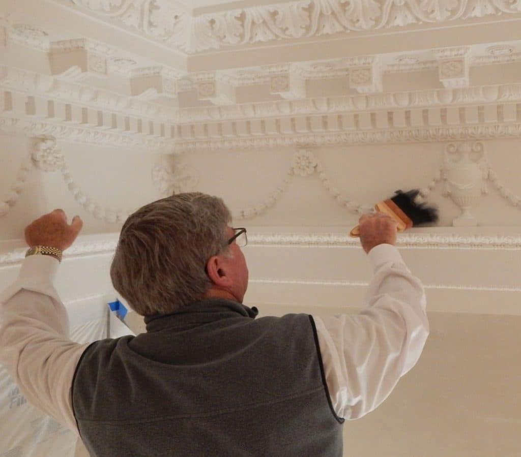 Distemper Paint Application