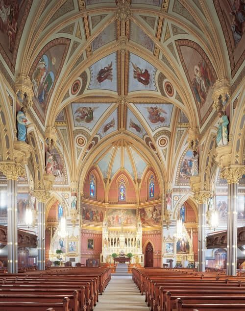 St John The Evangelist Church Mural
