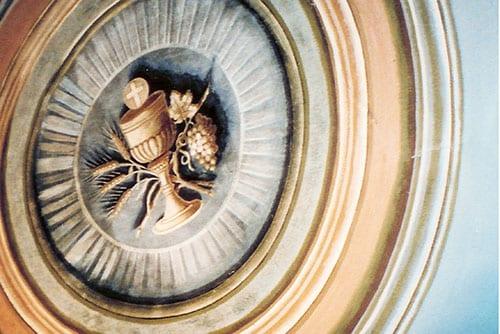 St. Francis Xavier Church Trompe l'oeil ceiling detail