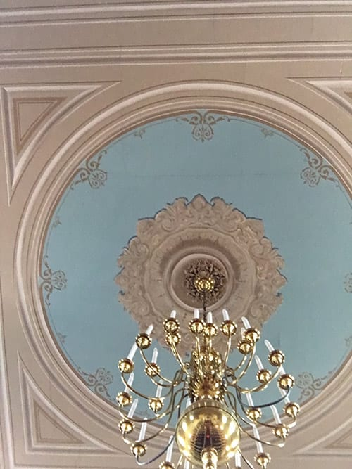 Church Hall Ceiling - Cracking