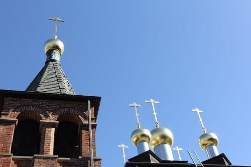 St. Panteleimon Church Gilding Complete