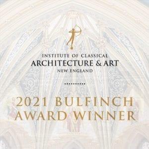 Bulfinch Award Winner