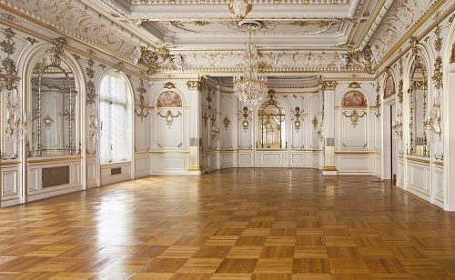 Cosmo Club Ballroom floor restored.