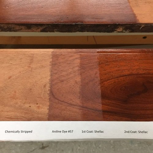 Woodwork Process Used